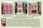 the phases of Fire Station #2's re-development - Schenectady NY - 18Oct2012