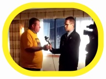 media attention for the Howe CAverns casino at the Location Board event - 09/22/2014