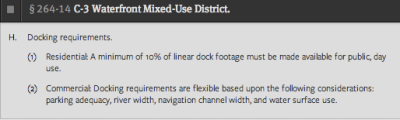 DockingRequirement
