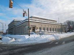 Post Office at Liberty & Jay